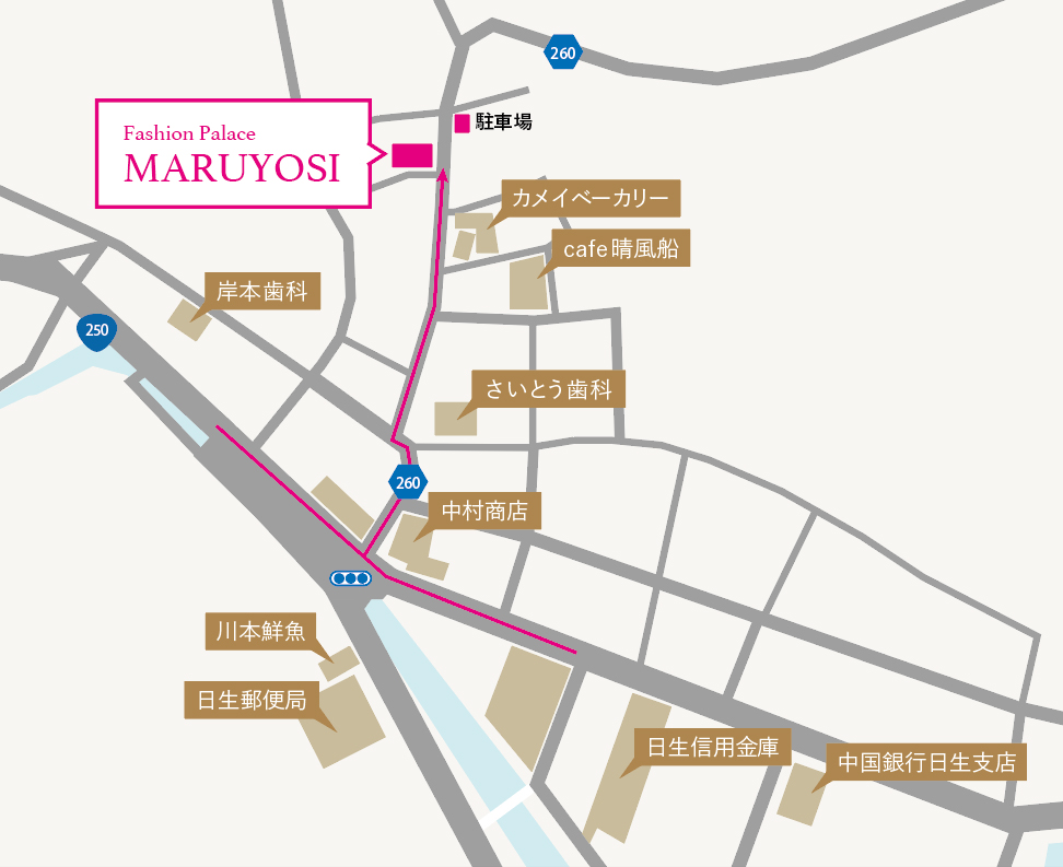 マルヨシ地図
